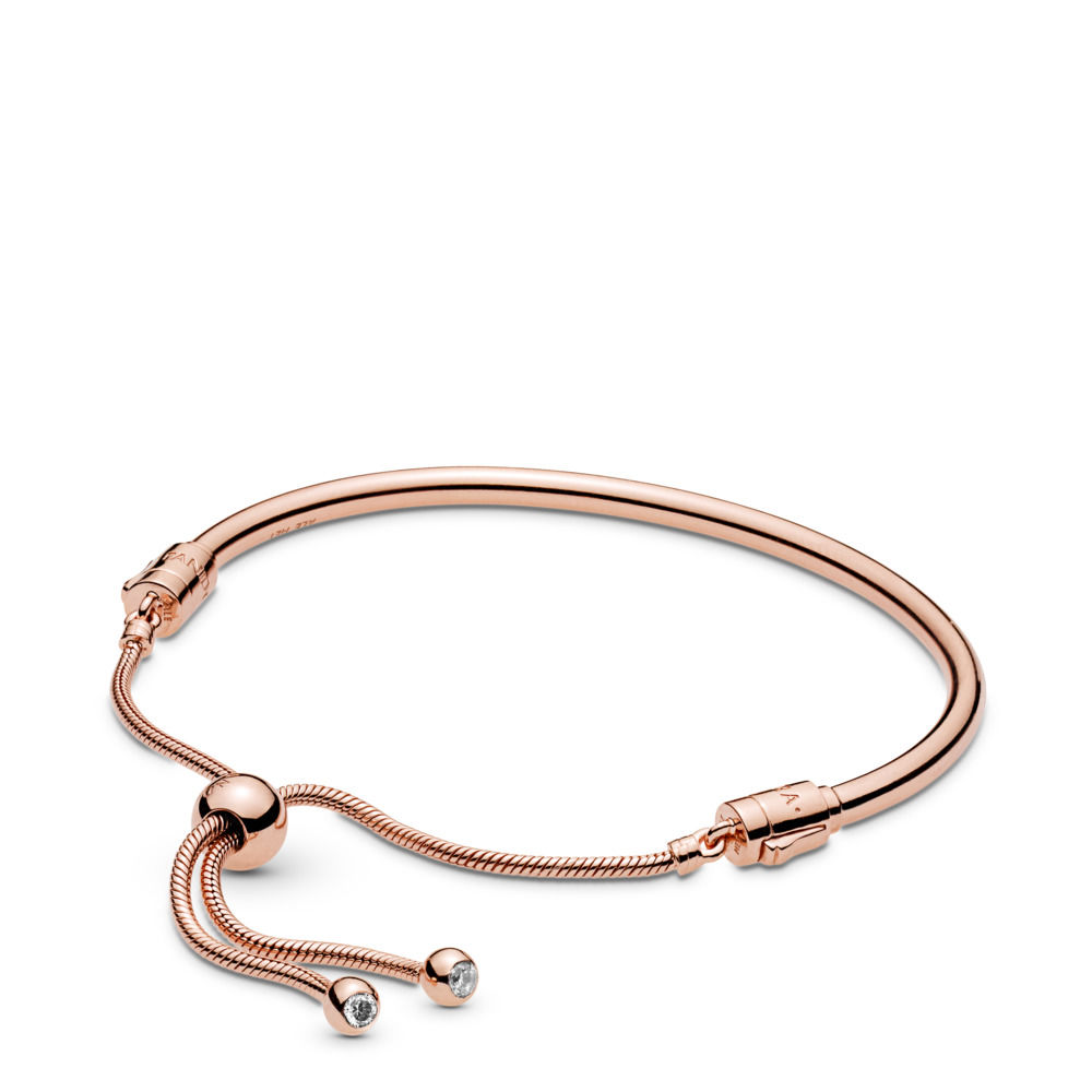 pandora rose gold bracelet collection